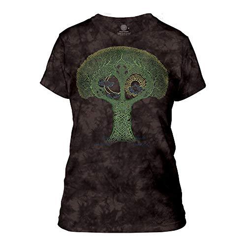 The Mountain Women's Celtic Roots Apparel, Black, XL