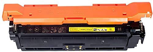 YXZQ Tonerkartusche, kompatibel mit HP CE250A Tonerkartuschen für HP Farblaserdrucker CP3525 / CP3525N / CP3525DN / CP3525X / CM3530 / CM3530TS, Gelb