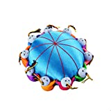 Carykon 4' Oriental Handmade Needle Pin Cushion with 10 Kids (Blue)