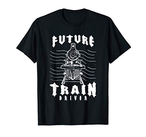 Model Steam Engine Collector Train Lover Future Train Driver T-Shirt