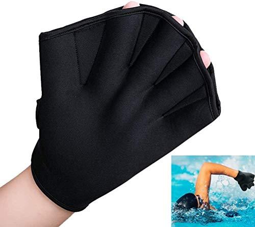 Sudaijins Dames Volwassen Fitness Zwemmen Surf Zwemmen Palm Handschoenen voor heren