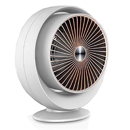 800W Mini Elektroheizung Tischheizung Warmluftventilator Tragbare Wand-Mounted Air Heater Auto Home Office-Weiß