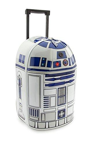 Disney Store Trolley Astrodroide Droide Robot R2D2 R2-D2 Originale 48x29x24cm Star Wars Guerre Stellari Valigia Bambino Ragazzo Viaggio