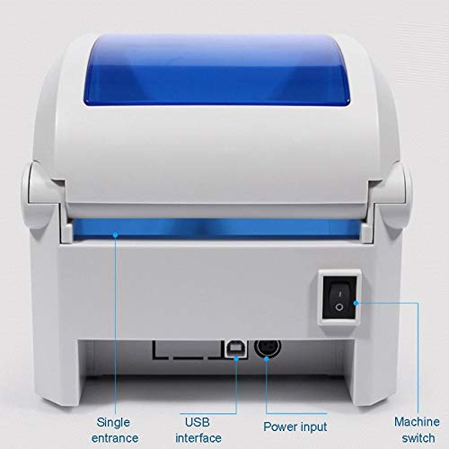ZUZU GPRINTER GP1324D USB-Anschluss Thermischer Barcodedrucker mit automatischer Kalibrierung, max. Unterstütztes Thermopapierformat: 104 x 2286 mm
