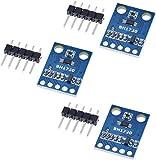ICQUANZX 3Pcs GY-302 BH1750FVI Modulo sensore rilevatore di intensità di Luce Digitale 3V-5V Power for AVR Arduino