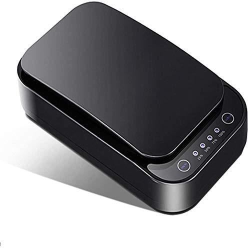 Popglory UV Smartphone-Reiniger Aromatherapie USB-Aufladung für Handys Multifunktionsreiniger Uhren Schmuck Kopfhöher iPhone Android
