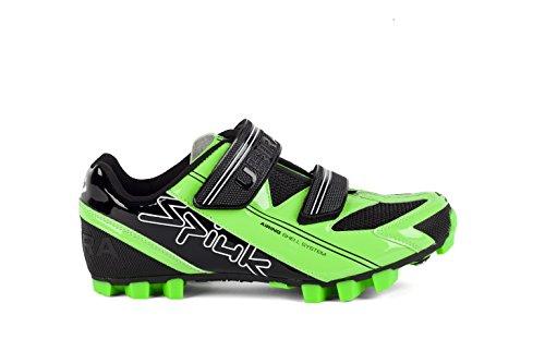 Spiuk Uhra MTB - Zapatillas unisex, color verde / negro, talla 37