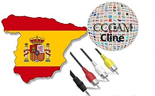 4 CLINES CCCAM ESPAÑA - Envio Muy RAPIDO - 12 Meses SIN Cortes  NO Chinas