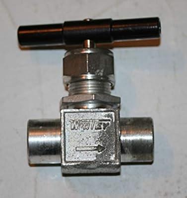 "1/4"" FNPT Integral Bonnet Needle Valve Steel (5000 Psig) Swagelok Whitey S-1KF4 from Swagelok Whitey"