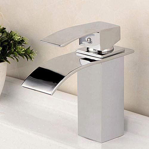Elegante y minimalista grifo monomando para lavamanos grifo para lavabo en cascada grifo para baño