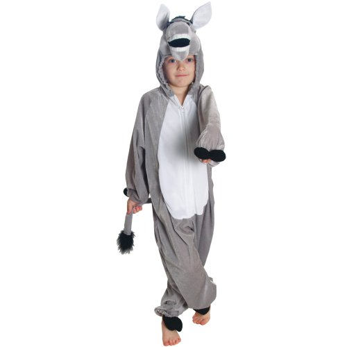 Kids - Disfraz de burro para niño, talla S