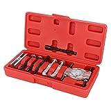 Kit di utensili per separatore di cuscinetti, kit di utensili per mini separatore di cuscinetti Set di utensili per estrattori di cuscinetti in cromo vanadio