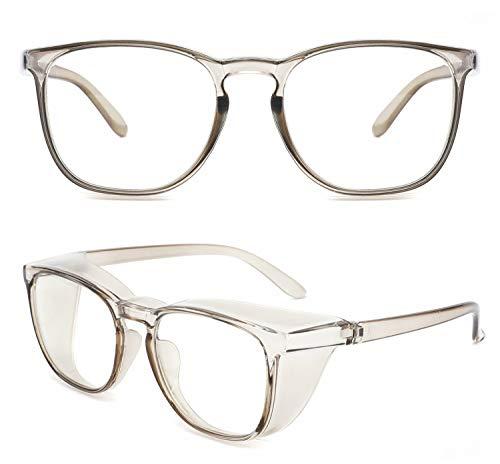 Alsenor Safety Glasses Anti Fog Goggles Protective Eyewear Blue Light Blocking Anti Dust UV Protection Glasses For Men Women