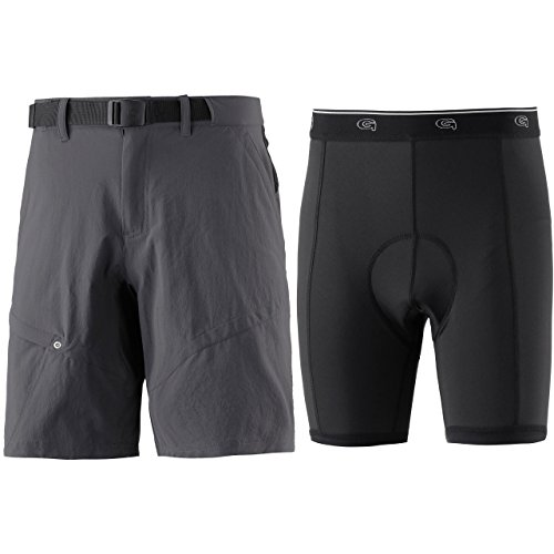 Gonso Herren Arico Shorts, Graphite, XXL