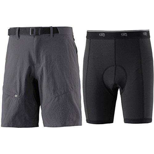 Gonso Herren Arico Shorts, grau, XXL
