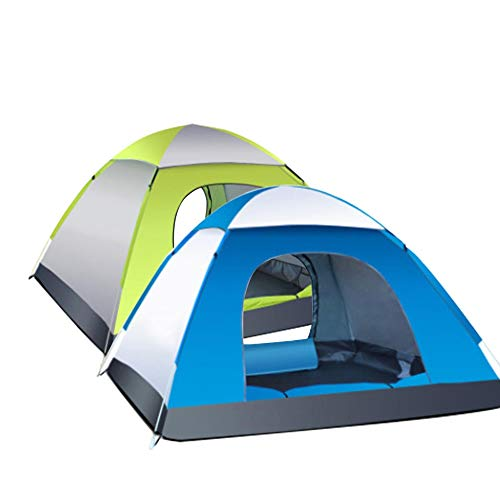 MOMIN Compact Yurts Are Also Garden CampingCompact Yurts Large Space Durable Tent 3-4 Person Waterproof Automatic Ten Easy to Carry Account Light Camping and Hiking Tents