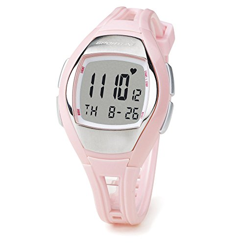 Sportline Solo 925 Heart Rate Watch Multi-function Fitness Watch with ECG Accurate Heart Rate Monitor, Pedometer, Stopwatch, and Clock