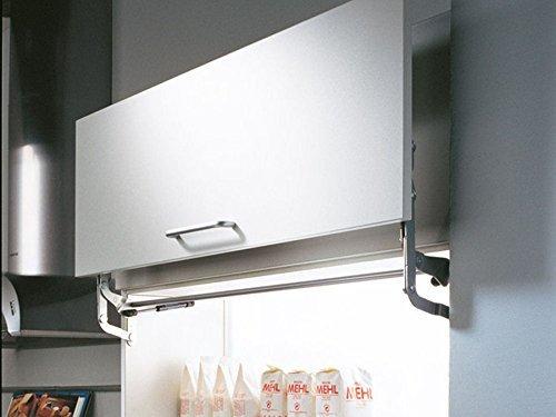 SO-TECH® HSB Tür-Liftbeschlag breitenanpassbar bis 870 mm