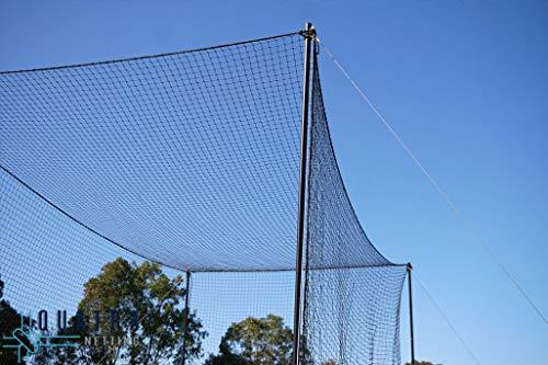3M Cricket World Ultimate Cricket Net | Jaula de críquet para jardín, deportes, cricket y bateo, jaula resistente a la intemperie, extremadamente duradera | (100 x 10) ⭐