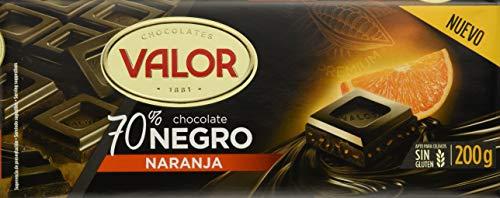 Valor, Chocolate 70% Naranja - 17 de 200 gr (Total: 3400 gr)