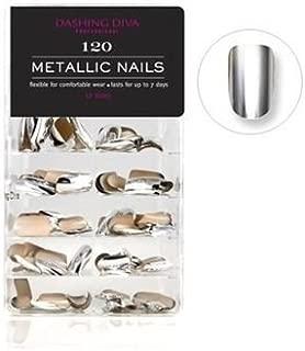 Dashing Diva Metallic Nails, Mercury Rising, 120 Count