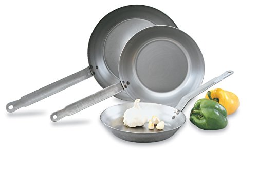 """Vollrath 58930 Fry Pan - French Style 12-1/2"""" Diameter"""
