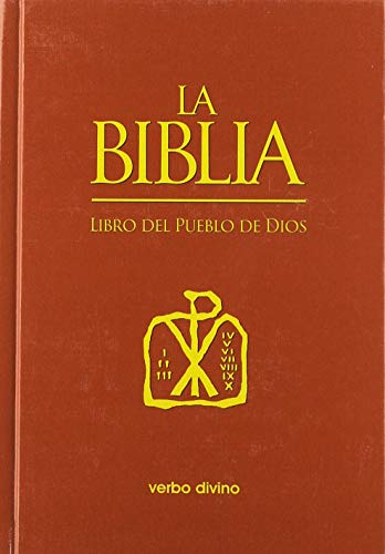 La Biblia. Libro del Pueblo de Dios: Impresión a un color
