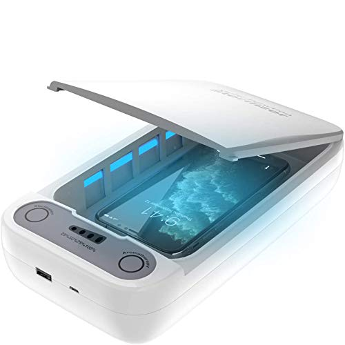 UV sterilisator desinfektion,Tragbarer UV Lampe Handy phone Sanitizer Cleaner Box,UV Licht Desinfektionsgerät Aromatherapie Funktionsdesinfektor