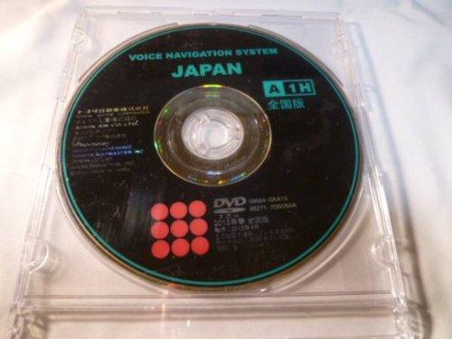 トヨタ(TOYOTA) 純正ナビ用DVD地図ソフト 全国版 2012年版【 08664-0AA15 】