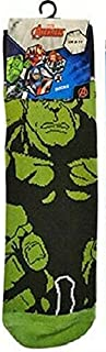 1 Pair of Mens Marvel Avengers Character Novelty Socks. Adult Shoe Size 6-11
