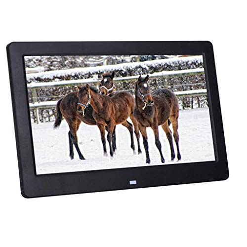 TUNBG Digitale Frame Digitale fotolijst 7/8/10 inch high-definition ultra-dunne smalle rand elektronische fotoalbum reclame machine (kleur: Wit, Maat : 8 inch)