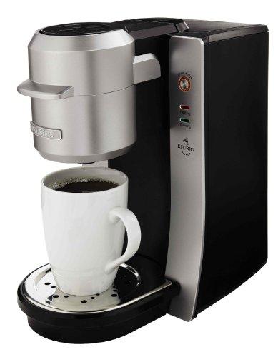 Mr. Coffee BVMC-KG2-001 Single Serve Coffee Maker, Silver