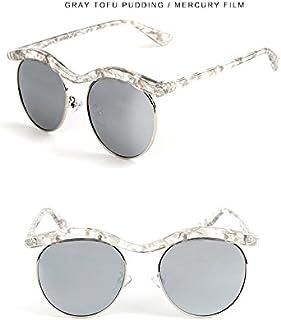 Sunglasses Child Cartoon Shape Sunglasses Fashion Children Polaroid Sunglasses Boys Girls Kids Baby Goggles UV400 Mirror Accessories for Summer Beach (Color : Silver)