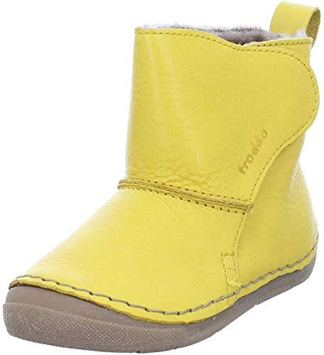 Froddo Kinder Stiefel G2160049 Warmfutter mit Klettverschluss Gelb(Yellow) 1760546031