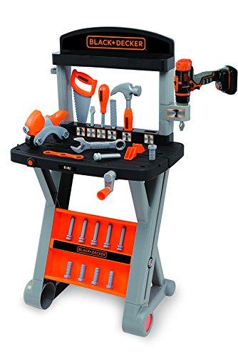Smoby Black + Decker Kinder Spielzeug Werkbank Werkzeuge 25tlg 78cm Neu