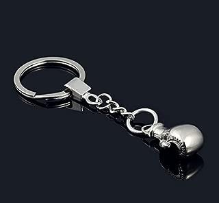 HaoLi Creative car Boxing Gloves Metal Keychain/Key Ring