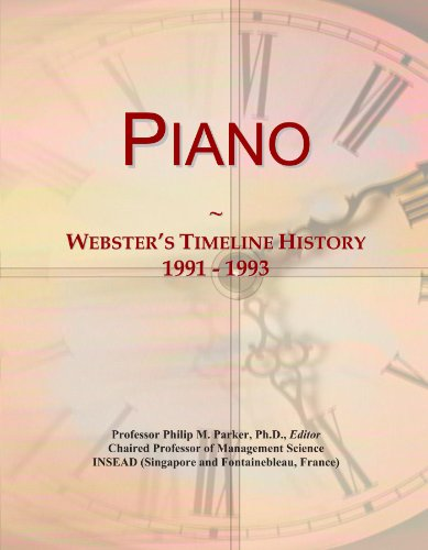 Piano: Webster's Timeline History, 1991 - 1993