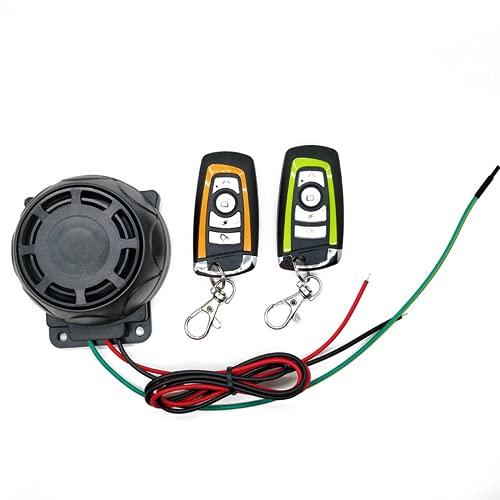 Sistema de alarma dual de la motocicleta de control remoto sistema de seguridad de la protección del robo de la bici Scooter Motor