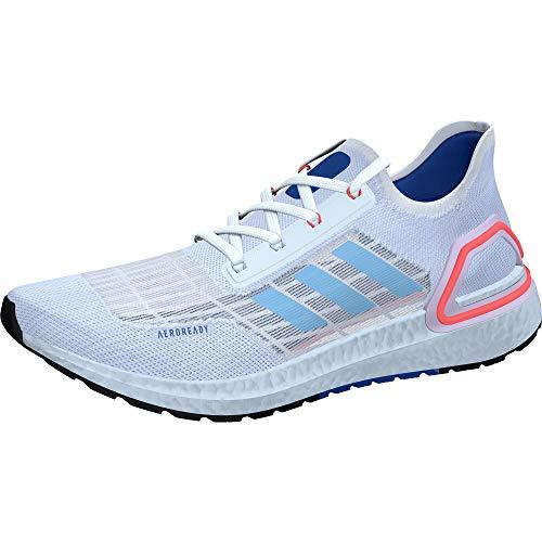 adidas Ultraboost A.rdy Zapatilla para hombre, blanco (Blanco/Azul Gloria/Rojo Solar), 44 EU