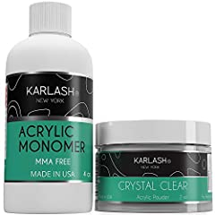 ACRYLIC LIQUID: SUPERIOR ADHESION: Maximum strength formula for acrylic nails to ensure best bond to natural nail plate and ensures an impeccable shine without needing a primer. NON-YELLOWING: This high-quality acrylic liquid is formulated with UV st...