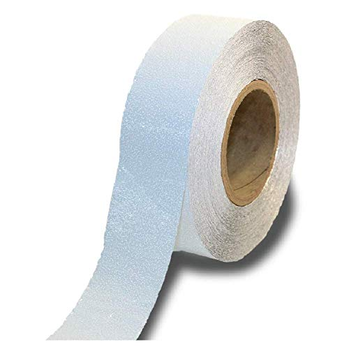 ifloortape White Reflective Foil Outdoor Pavement Marking Tape | Conforms to Rough or Smooth Asphalt and Concrete Surfaces (2 Inches x 150 Feet per Roll)