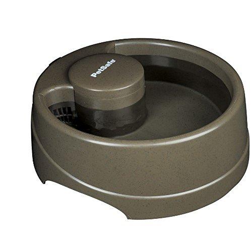 PetSafe - Petite Fontaine à Eau pour Chien et Chat (1.2 L) - 'Current' Filtre Anti-Odeur, Lavable au Lave-Vaisselle, Plastique Sans BPA