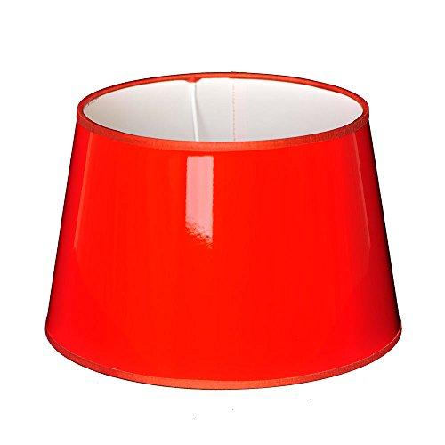 Abat-jour de couleur orange, moderne
