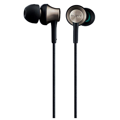 SONY MDR-EX650 B Inner Ear Headphones Brass Black