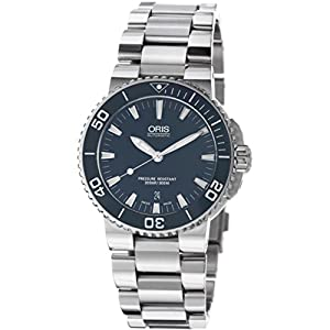 Oris Aquis Blue Dial Mens Watch 733-7653-4155MB image