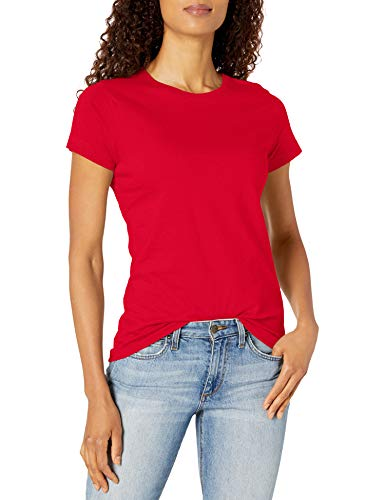 Marky G Apparel Women's Premium Jersey T-Shirt, Red, L