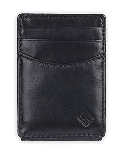 Columbia Men's Leather Front Pocket...