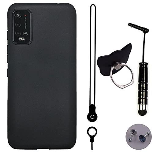 TienJueShi Funda de TPU Silicona Carcasas Gel Cover Case para WIKO Power U10 6.82 Inch Gel Piel Protector Gel Cover Case Skin