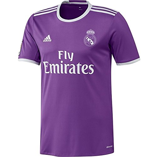 "adidas 2016-2017 Real Madrid Camiseta de fútbol (niños), 11/12 Years - US Medium Boys - 30-32"", Púrpura"