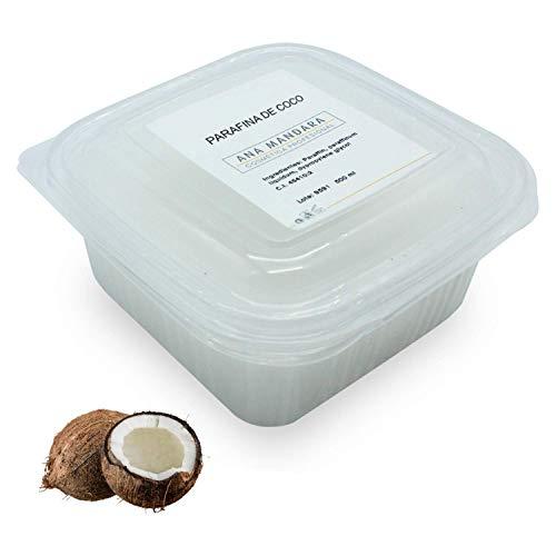 ANA MANDARA - Paraffina di Cocco 500 ml (350gr) || Trattamento alla paraffina per mani e piedi.